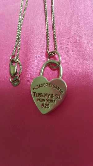 Tiffany & Co necklace for Sale in Stone Mountain, GA