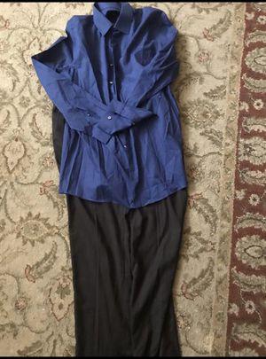 MENS DRESS SHIRT AND DRESS PANTS for Sale in Huntington Beach, CA