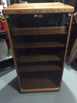 Solid Oak cabinet for Sale in Pittsburgh, PA