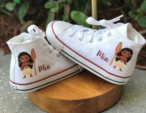 Personalized moana converse shoes for Sale in Brooklyn, NY
