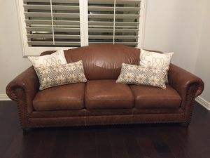 Leather sofa set for sale for Sale in San Diego, CA