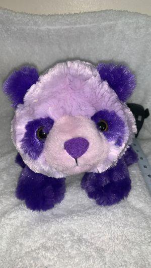 Stuffed purple panda toy, stuffed animal, kids toy for Sale in Los Angeles, CA