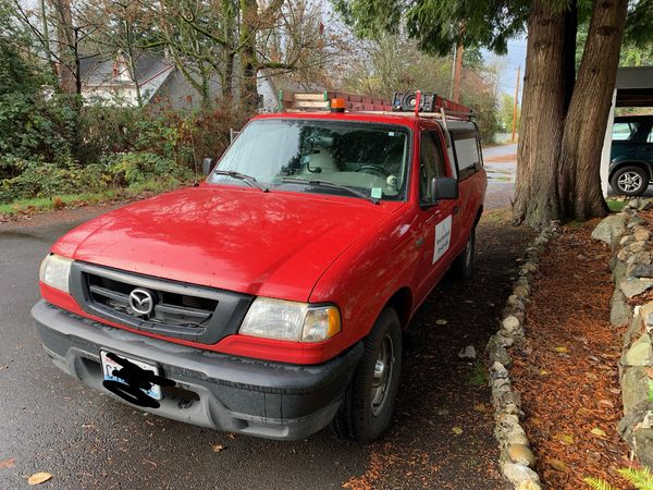 Mazda pick up truck very low mileage