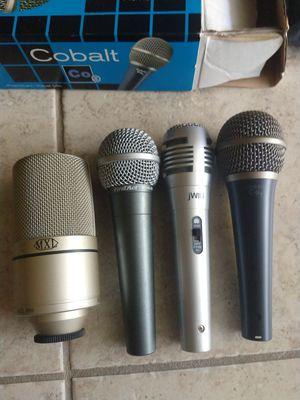 4 vocal microphones for Sale in Elk Grove, CA