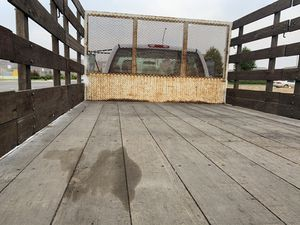 Wood stake body bed for a Chevy 3500 for Sale in Soledad, CA