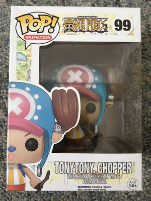 One piece Tony chopper anime Funko Pop bobble head toy collectible for Sale in San Leandro, CA