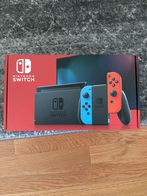 Nintendo Switch V2 Neon Red and Blue for Sale in Saint Charles, MO
