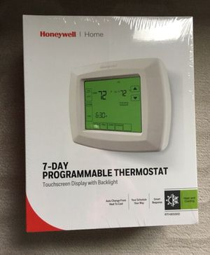 Honeywell 7-day programmable thermostat for Sale in Dublin, OH