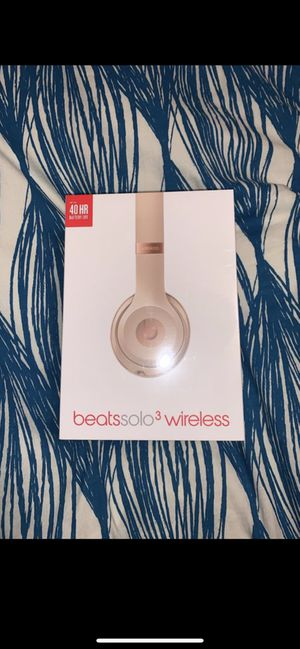 Beats solo 3 wireless for Sale in Evergreen, CO