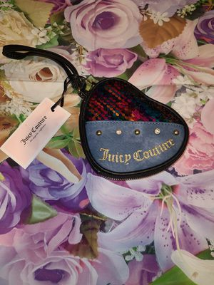 Nwt juicy couture wristlet purse bag new for Sale in Bremerton, WA