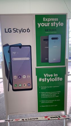 LG Stylo 6 free when you switch for Sale in Beverly Hills,  TX