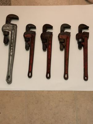 Pipe wrenches for Sale in Washington, DC