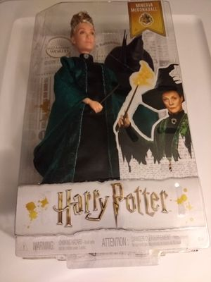Harry Potter MINERVA McGONAGALL Wizarding World Collectible Figure for Sale in Bethel Park, PA