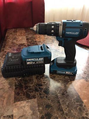 Drill hammer Hercules 20v for Sale in Phoenix, AZ