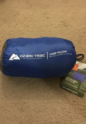Ozark Reversible camp pillow for Sale in Wyoming, MI