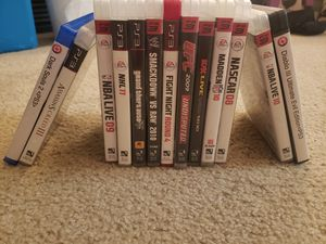 Ps3 games for Sale in Lumberton, TX