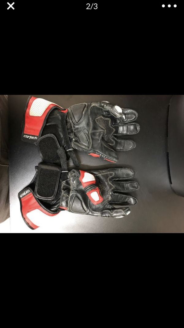 Brand new Cortech motorcycle gloves size small
