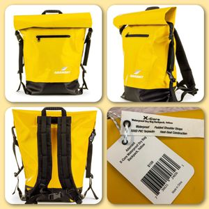 NEW! Adamant - X-Core Waterproof Dry Bag Backpack - Yellow. Retails for $159, Selling here for ONLY $70!! for Sale in Jefferson City, MO