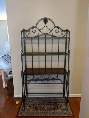 Metal baker's rack for Sale in Fairfax, VA