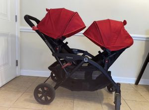 Options Double stroller for $75 for Sale in Knightdale, NC