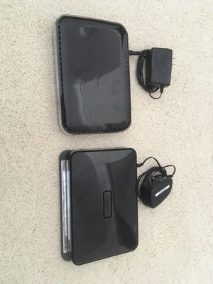 Netgear router and range extender for Sale in Mission Viejo, CA