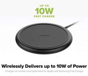 NEW mophie Charge Stream Pad 10W Wireless Charger (iPhone/Android) for Sale in Potomac, MD