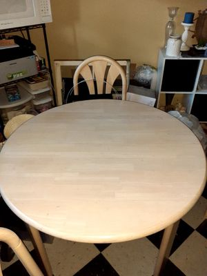 Wooden Family Table for Sale in Portland, OR