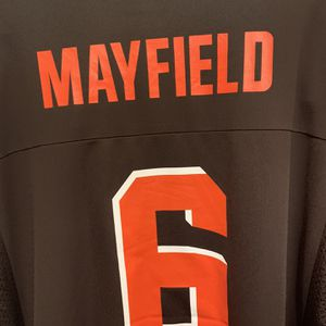 Baker Mayfield #6 Cleveland Browns NFL Team Apparel Team Jersey 2XL for Sale in Lynnwood, WA