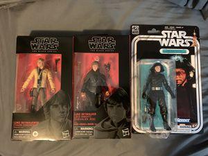 "Star Wars Black Series 6"" figures. Luke skywalker, Jedi Knight, Luke SkywalkWer, 40th anniversary Death Squad Commander for Sale in Boca Raton, FL"