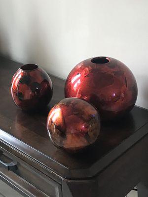 3 vase decoration for Sale in Lawrenceville, GA