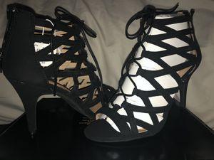 Sext black heels size 9 for Sale in Elizabeth, NJ