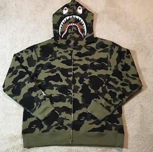 bape shark hoodie for Sale in Bakersfield, CA