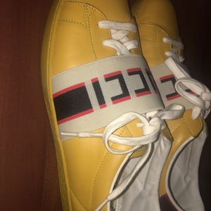 Gucci, Sneakers, Yellow Size 11 for Sale in Atlanta, GA