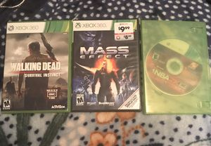 3 Xbox 360 games for Sale in Brentwood, NC