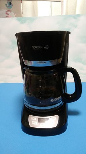 Black+Decker coffee maker for Sale in Groton, CT