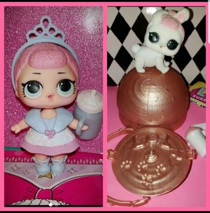 Lol doll series 1 Crystal Queen and Crystal Bunny for Sale in River Grove, IL