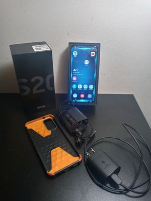 Samsung galaxy s20 5g Phone 📱 cell phone. Unlocked simlockfree. New 1.100. And 50 doller cover included. for Sale in Beloit, WI