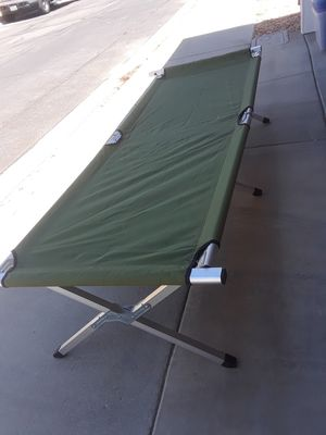 Folding Cot for Sale in Rosamond, CA