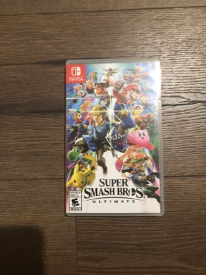 Super Smash Bros Ultimate Switch for Sale in Palm Bay, FL