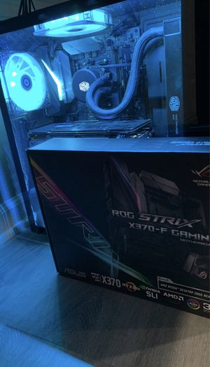 ASUS ROG STRIX X370-F GAMING AM4 Motherboard for Sale in Alexandria, VA