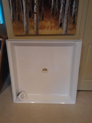 36x36 Brand new never used Shower base for Sale in Sandy, OR