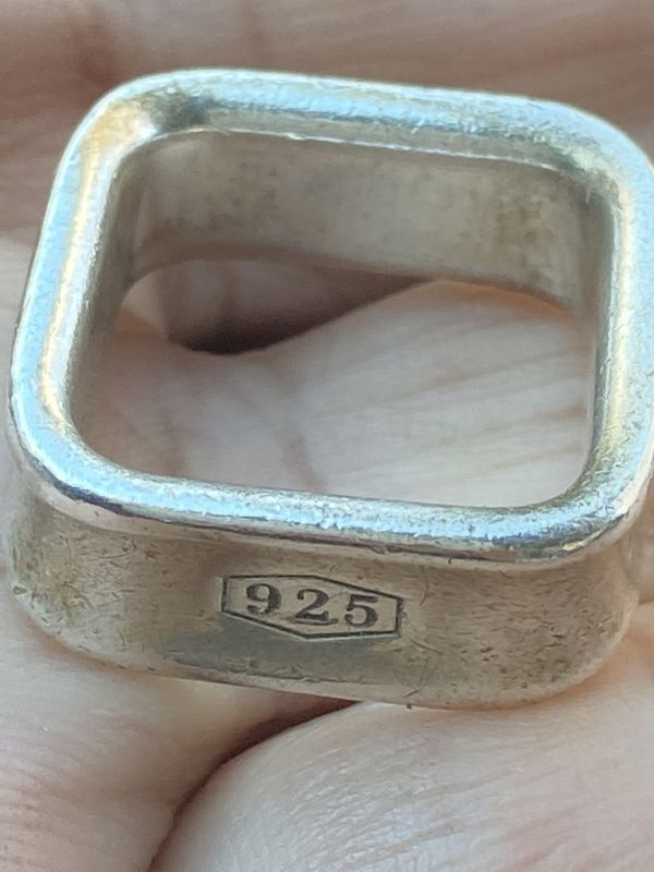 Vintage Tiffany 925 Size 7 Sterling Ring