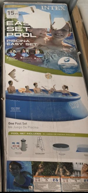 15 ft Intex pool (New in Box) OBO for Sale in Salt Lake City, UT