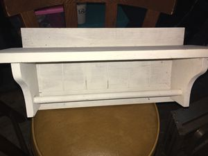 Small wooden shelf for Sale in New Berlin, IL