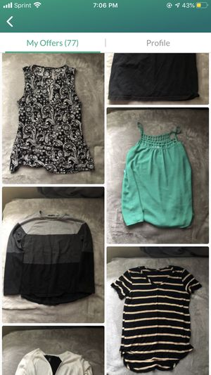 BOGO ENTIRE PAGE/CLOTHES ONLY for Sale in Lynnwood, WA