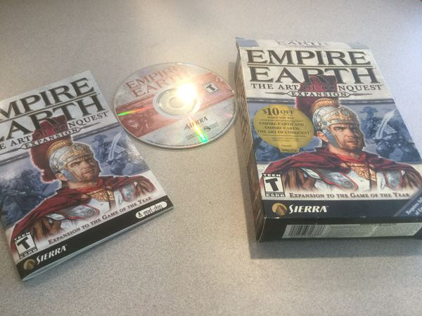 CD ROM Computer Game Empire Earth