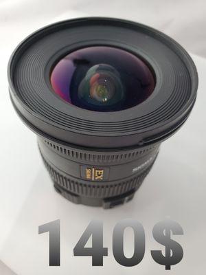 Sigma 10-20mm 3.5 canon for Sale in Carson, CA