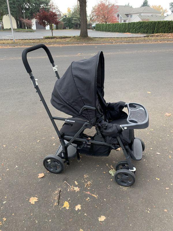 Joovy Caboose Black Double Stroller