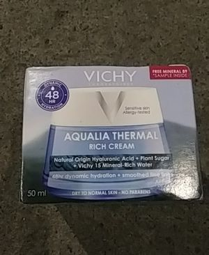 Vichy squalid thermal rich cream for Sale in Seattle, WA