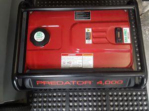 LIKE NEW PREDATOR 4000 WATTS GENERATOR $260 TAKES IT for Sale in Hialeah, FL